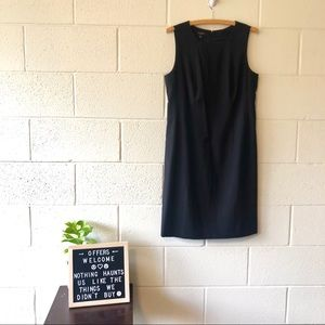 NWT Talbots Petite Black Shift Dress Size 12P